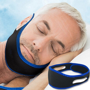 Stop Snoring Belt Snore Stopper Anti Snoring Chin slogato Russare Resistance Band Chin Fixing Cinghie Chin Dislocation Band