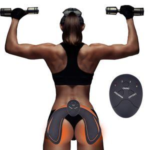 EMS Entrenador de cadera Estimulador Muscular ABS Nalgas para ejercicios Levantamiento de glúteos Glúteo Entrenador de tóner Masajeador para adelgazar Unisex