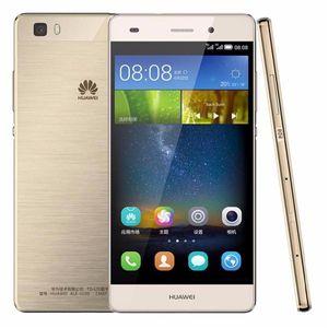 Orijinal Huawei P8 Lite 4G LTE Cep Telefonu Kirin 620 Sekiz Çekirdekli Çekirdek 2 GB RAM 16 GB ROM Android 5.0 inç HD 13.0MP OTG Akıllı Cep Telefonu