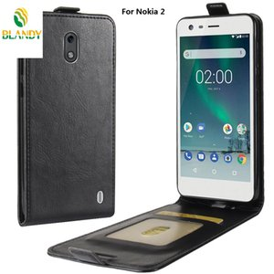 Para Nokia X6 X5 6.1 5.1 7 plus flip Funda de cuero de 64 granos Para Nokia 8 3310 3.1 2.1