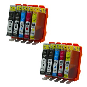 10PK Replacement for HP 364 364XL Ink Cartridges Photosmart B8553 C5383 C5380 C6324 C5390 C5393 B8558 C6380 C6383 C5324 Inkjet