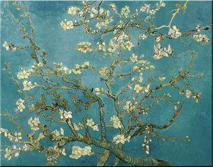 Di alta qualità dipinta a mano / stampa hd van gogh blossom mandorlo astratto wall art pittura a olio su tela home decor più dimensioni vg31