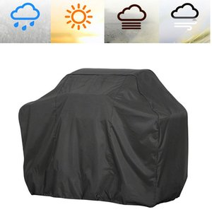 BBQ Grill Cover,74 Inch Black Waterproof Dust-proof BBQ Cover Fading Resistant Grill Covers for Holland Weber, Brinkmann, Jenn Air