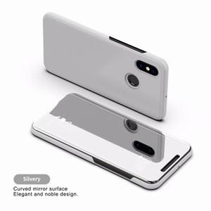 Роскошное зеркало Clear View Case для Xiaomi 8 8 SE pro lite 5S Max 3 Pocophone F1 Redmi 4 prime крышка телефона покрытие базы вертикальная подставка