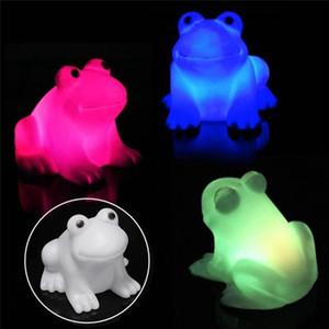 Magia colorido LEVOU Sapo Bonito Luz Noturna Novidade Lâmpada Mudança de Poupança de Energia Novidade Lâmpada Q0867