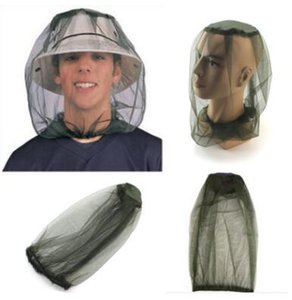 Outdoor Survival Anti Mosquito Bug Bee Insect Mesh Hat Head Face Protect Net Cover Travel Camping Protector