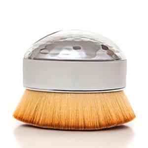 1PCS البيض بنية فرشاة مؤسسة كبيرة بودرة أحمر الخدود الوجه كونتور فرش مستحضرات التجميل جعل أدوات تجميل حتى لينة الشعر