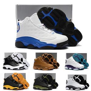 Nike air jordan 13 retro Ligne 13 enfants de basket-ball Chaussures enfants 13s de haute qualité Sports Chaussures Jeunesse Garçon Fille de basket-ball Chaussures de sport vente US11C-3Y EU28-35