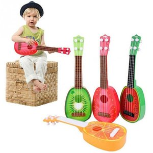 Newest Super Cute Children 4 String Fruit Style Guitar Ukulele Musical Instrument Kids Christmas Gift Toy