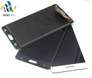 سوبر الجودة لسامسونج غالاكسي ملاحظة 4 Note4 N910C N910 N910A N910F LCD ديسبالي شاشة تعمل باللمس استبدال محول الأرقام