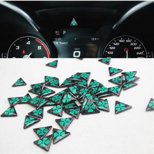 4pcs 25mm NOUVELLE Alfa Romeo quadrilobe autocollants delta vert voiture logo emblème badge pour 159 147 156 166 Giulietta araignée GT