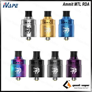 Geekvape Ammit MTL RDA Rebuildable Dripping Atomizer 3D Airflow Transferring with 12 Level Airflow Adjustment Leak-proof Tank 100% Original