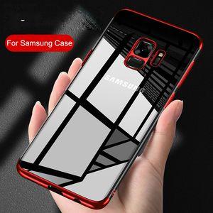 Coque TPU pour Samsung Galaxy S9 S8 Plus S6 S7 Edge Coque en Silicone Transparent pour Galaxy Note 9 8 Coque