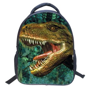 2018 New Spring Pupils 3D dinosaur Print Backpack European and American Style Students Bags Kindergarten children Fashion Backpack for boys