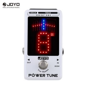 JOYO Power Tune True Bypass электрогитара бас-тюнер 8 порт мульти - источник питания поставщик эффект