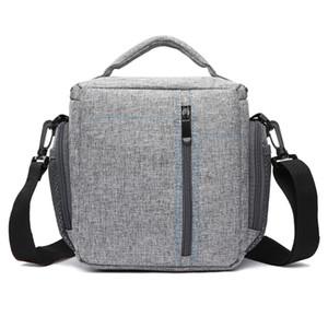 Mode étanche Matériel Tissu Caméra Sac à bandoulière DSLR Sling Bag caméra avec housse de pluie pour Canon Nikon Sony.
