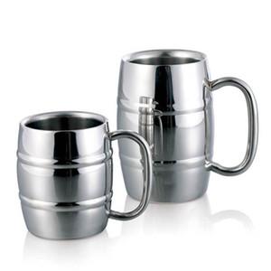 Двойной бочонок двойная стена изолировала кружку пива и кофе нержавеющей стали детей выпивая чашку WX9-304 молока