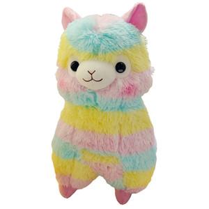 Regenbogen Alpaka Plüsch Schaf Spielzeug Puppe Cartoon Weichem Plüsch Alpacasso Baby Plüsch Tiere Alpaka Kinder Geschenk
