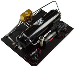 نظام تعليق هواء مضخة مزدوجة كيت تعليق الهواء مجموعات / هوائي أعلى درجة الربيع + أطقم التكوين / الجمعية / أكياس الهواء
