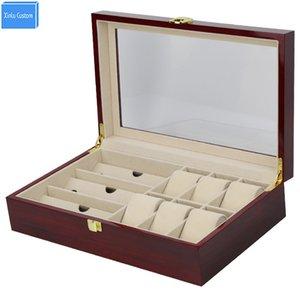 2019 hot new design gift case for sunglasses&watches exhibitor storage rosewood lacquer hours case hour time box organizador estojo de joyas