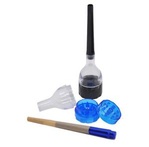 CONE ARTIST Değirmeni Haddeleme Makinesi Koni Haddeleme Kağıt Maker Filtre Aracı Cihazı Plastik Değirmenleri Rulo 4 Parçaları Kalça Sigara Aksesuarları