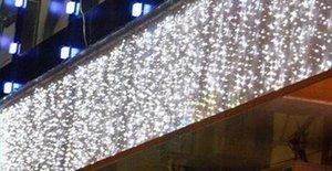 Cortina Luzes de Natal Cordas Fada 10Mx1M 448 LED impermeáveis luzes decorativas de Natal das estrelas de lâmpadas