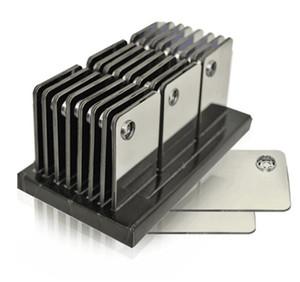 Высокое качество Оптовая продажа кредитных карт для курения металлические трубы для курения нажмите Fun металл магнитный Fit в кошелек серебряные стеклянные трубы бесплатная доставка