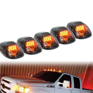 무료 배송 5pcs / 세트 자동차 트럭 SUV 4x4, 블랙 훈제 렌즈에 대 한 LED 택시 지붕 표시 등