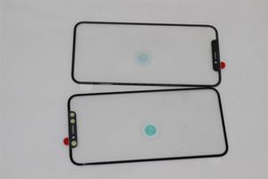Imprensa fria frente tela de vidro do painel de vidro exterior com filme oca para iphone x refurbish peças