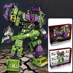 hot NBK Devastator Transformation Boy Toy Oversize Action Figure Ro
