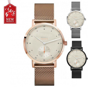 Watches Mens Fashion Luxury Clock Relojes Stainless Steel Men Bracelet Dress Band Casual Dial Wristwatch Business Gift For Nomos Brand Xprn