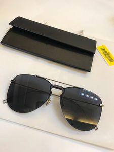 New qualidade superior 0222 mens óculos homens vidros de sol mulheres óculos de sol estilo de moda protege os olhos Óculos de sol lunettes de soleil com caixa