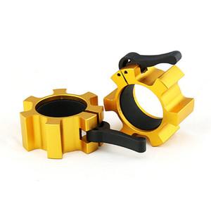 Aluminiumlegierung Fitnessgeräte Zubehör Gewichtheber Zubehör Barbell Barbell Pole Gewicht Platte Kunststoff Schnalle Sicherheitsschloss