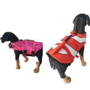 Traje de baño Mascotas Artículos de salvamento Cambiar cuerpo Mascotas Chaleco salvavidas Aire libre Entrenamiento para perros Dispositivo de tres colores Opcional