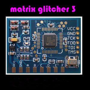 جديد مصفوفة glitcher v3 رقاقة مجلس كورونا مع 48 ميجا هرتز كريستال مذبذب ل xbox 360 صغير ic dhl فيديكس ems الشحن المجاني