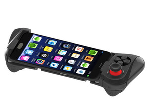 Latest Gamepad-058 Gamepad Bluetooth Game Gaming Joystick Controller Shutter Remote Control for IOS& Andriod Smart Phone TV BOX tablet pc