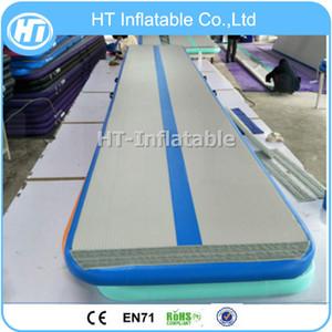 شحن مجاني 5x1x0. 1m Tumblle Trampoline Track air track 5m blue gymbass mattratch