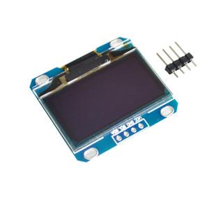 """1.3 """"OLED modülü beyaz ve mavi renk 128X64 1.3 inç OLED LCD LED Ekran Modülü Için 1.3"""" IIC İletişim"""