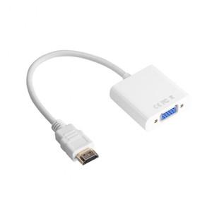 Connettore maschio-femmina da HDMI a VGA Connettore T-Type Micro + Mini HDMI Converter per tablet PC portatile PS3 / PS4 STB
