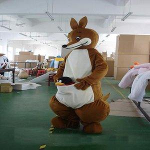 2018 завод прямых продаж можно мыть с водой Ева материал шлем кенгуру талисман костюмы мультфильм одежда реклама костюмы Birthd
