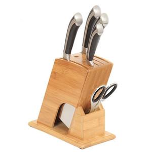 Küche liefert Lagerregal multifunktionale Cutter Rack Halter Holz Messer Werkzeughalter ohne Cutter