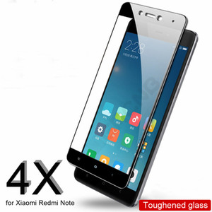 2.5D Full Cover Glass per Xiaomi Redmi 4X 4A Note 4 4X Screen Protector Pellicola per Xiaomi Redmi 5 5 Plus 5A Note 5A Vetro temperato