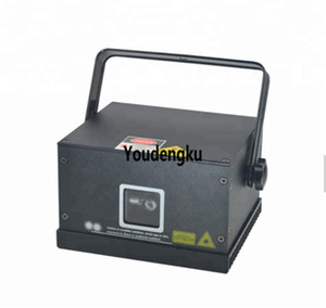 2 pièces moins cher publicité DMX faisceau animation laser RGB 1W couleur mini animation laser rvb DJ club light