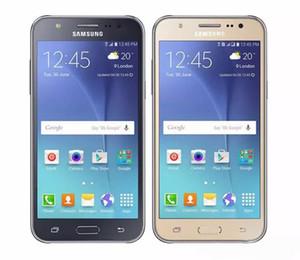 Оригинал Восстановленное Samsung Galaxy J5 J500F 1.5 ГБ / 16 ГБ Камера 13MP / 5MP Quad Core 4 Г LTE WI-FI GPS Bluetooth Камера Разблокирована Мобильный Телефон