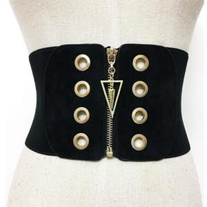 2017 новые женские широкие ремни женские украшения эластичный мода поясной ремень все Матч Ремни для женщин старинные пояса талии