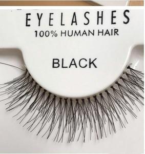 حار بيع 50 أزواج RED CHERRY الرموش الصناعية 100٪ يدويا قطاع الشعر لاش وهمية العين جلدة S M L