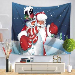 [Doremi] 2017 nuevo textil para el hogar 1Pcs manta tapiz de Navidad 150 * 130 150 * 200 Toalla de playa Estera de yoga manta mesa