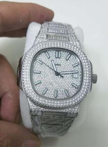 migliore versione di lusso della vigilanza 40MM diamante Dial Orologi da polso Nautilus 5719 / 10G-010 meccanico automatico Asia 2813 Movimento Mens Watch