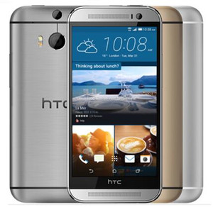 "Original M8 Desbloqueado HTC ONE M8 Quad Core Android RAM 2GB + ROM 16GB / 32GB 5.0 ""Bluetooth WIFI GPS reacondicionado Teléfono celular móvil"