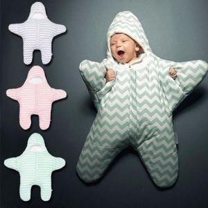 جديد وصول لطيف نجم الطفل كيس النوم الشتاء الطفل كيس النوم الدافئة الطفل بطانية قماط sleepsacks
